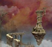 Mondo di fantasia illustrazione vettoriale