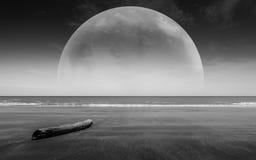 Mondo di fantasia Immagine del pianeta della terra Gli elementi di questa immagine sono Immagine Stock Libera da Diritti
