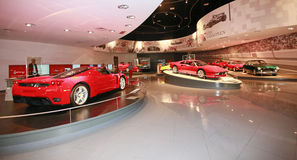 Mondo di Ferrari a Abu Dhabi Fotografia Stock Libera da Diritti