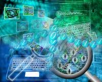 Mondo di Internet Immagine Stock Libera da Diritti