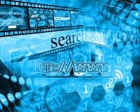 Mondo di Internet Fotografia Stock