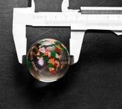 Mondo di misurazione Fotografie Stock Libere da Diritti