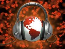 Mondo di musica royalty illustrazione gratis