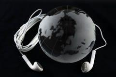 Mondo di musica Fotografie Stock