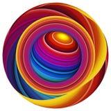 Mondo di pittura, mondo dei colori Fotografie Stock Libere da Diritti