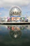 Mondo di scienza di Vancouver Fotografia Stock