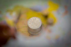 Mondo di soldi Immagine Stock Libera da Diritti