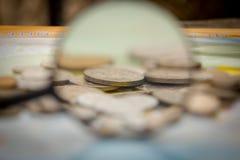 Mondo di soldi Immagini Stock