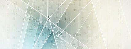 Mondo di tecnologia digitale Concetto virtuale di affari per la presentazione Fondo di vettore