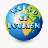 Mondo di turismo pianeta Fotografie Stock