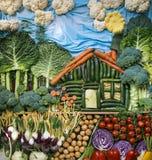 Mondo di verdure Immagini Stock