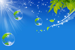 Mondo ecologico Immagini Stock