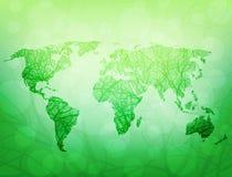 Mondo ecologico Fotografie Stock Libere da Diritti