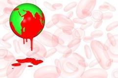 Mondo emofilia giorno 17 aprile Fotografia Stock