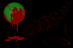 Mondo emofilia giorno 17 aprile Fotografie Stock Libere da Diritti