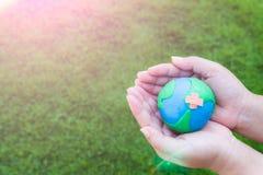 Mondo giornata per la Terra concetto del 22 aprile Immagine Stock Libera da Diritti