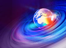 Mondo grafico background3 di Digital Fotografia Stock