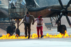 Mondo Indiana Jones, viaggio di Disney fotografia stock