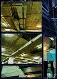 Mondo industriale della ruggine, accumulazione della foto fotografie stock libere da diritti