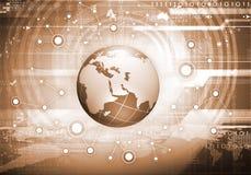 Mondo intero di collegamento Immagine Stock Libera da Diritti