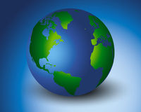 Mondo più verde Fotografia Stock