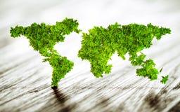 Mondo sostenibile Fotografia Stock Libera da Diritti