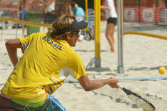 Mondo Team Championship 2014 di beach tennis Immagine Stock