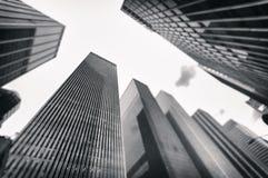 Mondo urbanizzato Immagini Stock