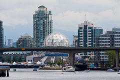 Mondo Vancouver di scienza Immagine Stock Libera da Diritti
