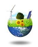 Mondo verde Fotografie Stock Libere da Diritti