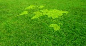 Mondo verde Fotografia Stock Libera da Diritti