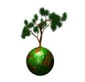 Mondo verde Immagini Stock Libere da Diritti