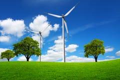 Mondo verde di eco Immagini Stock Libere da Diritti