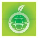Mondo verde di eco Immagine Stock Libera da Diritti