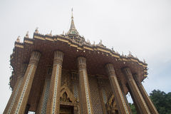 Mondop av Wat Phra Phutthabat, Saraburi, Thailand Royaltyfria Bilder