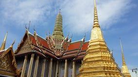 Mondop and pagoda royalty free stock image