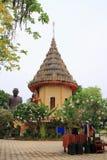 Mondop. At Wat sa kam phaeng yai, Uthumphon Phisai, Sisaket Province royalty free stock image