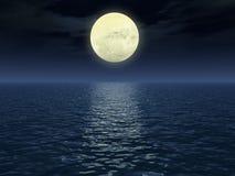 Mondpfad Stockfoto