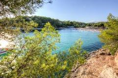 Mondrago beach, Mallorca, Balearic islands, Spain Royalty Free Stock Image