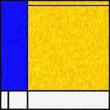 Mondrian启发了数字式绘画04 免版税库存图片