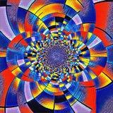 Mondrian-Fractal vektor abbildung