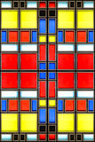 Mondrian glass texture Stock Images