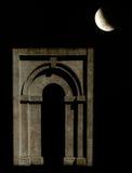 Mondschein-Bogen Stockbild