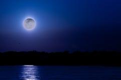 Mondschein-Schatten Stockfoto