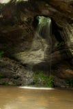Mondschein-Wasserfall Stockbild