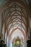 MONDSEE上奥地利/AUSTRIA - 9月15日:内部看法  免版税库存图片