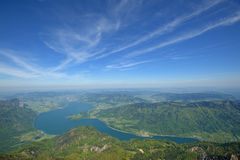 Mondsee, Alps Stock Photos