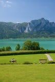 Mondsee lake Royalty Free Stock Image