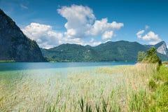 Mondsee lake in Austria Stock Images