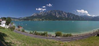 Mondsee lake Royalty Free Stock Photo
